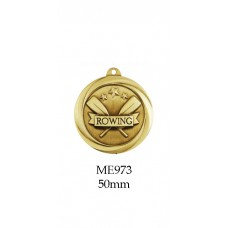 Rowing Medals ME973, - 50mm (Gold only)