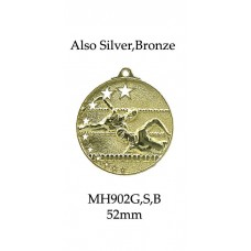 Swimming Medals MD902G, S or B  52mm