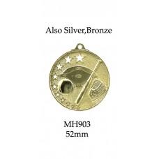 Baseball Softball Medals MH903G,S or B 52mm
