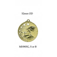 Knowledge Medals MH905G,S or B - 52mm