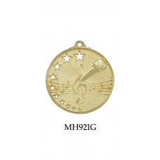 Music Medals MH921G, S or B  50mm