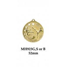 Martial Arts Medals MH923G - 52mm