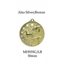 Equestrian Medals MH935G,S or B - 52mm