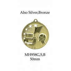 Surf Life Saving Medals MH958G, S or B - 52mm