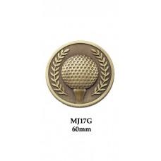 Golf Medals Heavyweight MJ17G - 60mm