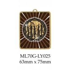 Athletics Medals ML70G-LY025 - 63mm x 75mm