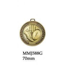 AFL Aussie Rules Prestige Medal MMJ588G & S