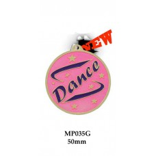 Dance Medals MP035G - 50mm