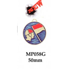 Surf Life Saving Medals MP058G - 50mm