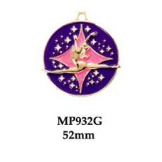 Dance Medals MP932G - 52mm