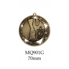 Athletics Medals MQ901G, S or B  70mm