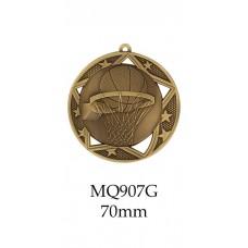 Basketball Medals MQ907G - 70mm