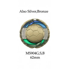 Soccer Medals MS904G - 63mm