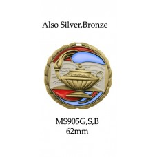 Knowledge Medals MS905G - 65mm