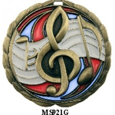 Music Medals MS921G  63mm