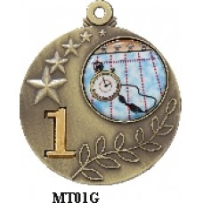 Medals Any Logo MT01G, S or B - 25mm Centre
