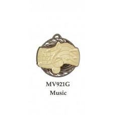 Music Medals MV921G - 55mm