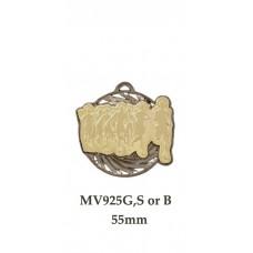 Athletics Medals MV925G,S or B - 55mm