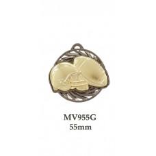 Grid Iron Medal MV955G - 55mm