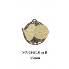 Motorsport Medals MV984G,S or B - 55mm