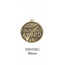Achievement Medals MW102G - 50mm