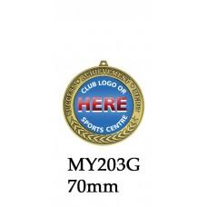 Achievement Medals MY203G, S & B - 70mm