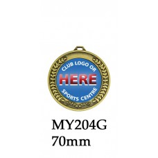 Medals Any Logo MY204G, S or B - 50mm Centre