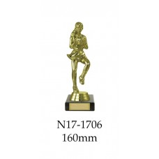 Netball Trophies N17-1706 - 160mm Also 210mm 235mm & 270mm