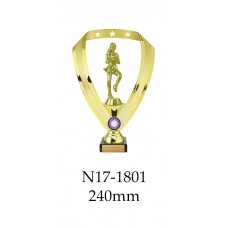 Netball Trophies N17-1801 - 240mm Also 270mm 295mm & 320mm