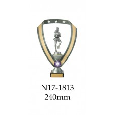Netball Trophies N17-1813 - 240mm Also 270mm 295mm & 320mm