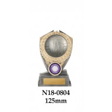 Netball Trophies N18-0804 - 125mm Also 150mm & 175mm