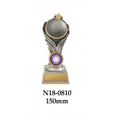 Netball Trophies N18-0810 - 150mm Also 175mm & 200mm