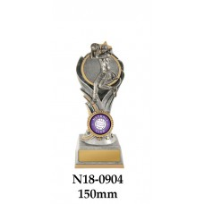 Netball Trophies N18-0904 - 150mm Also 175mm & 200mm