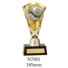 Netball Trophies N7001 - 185mm Also 205mm & 225mm