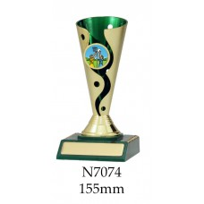 Netball Trophies N7074 - 155mm Also 175mm & 195mm