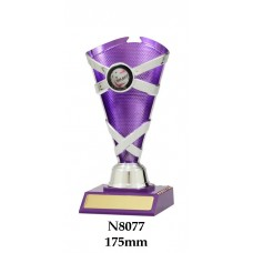 Netball Trophies N8077 - 175mm Also 195mm & 215mm
