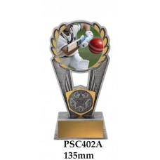 Cricket Trophies Batsman PSC402A - 135mm Also 155mm & 175mm