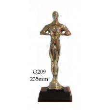 Achievement Trophies Q209 - 235mm Also