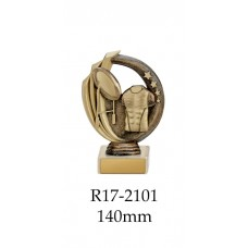 Rugby Trophies R17-2101 - 140mm Also 170mm 195mm & 220mm