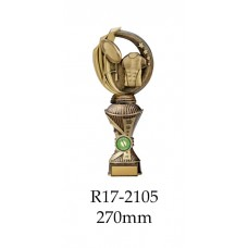 Rugby Trophies R17-2109 - 270mm Also  290mm 310mm 330mm & 360mm
