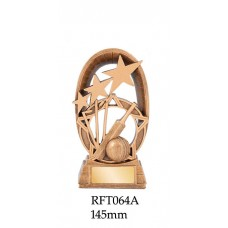 Cricket Trophies RFT064A - 145mm Also 165mm & 180mm