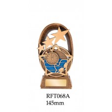 Swimming Trophies RFT068A - 145mm Also 165mm & 180mm