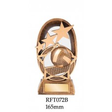 Volleyball Trophies  RFT072B - 165mm