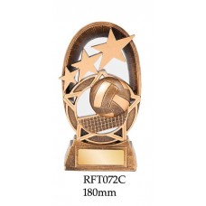 Volleyball Trophies  RFT072C - 180mm