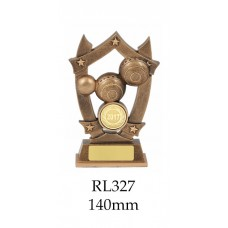 Lawn Bowls Trophies RL327 - 140mm Also 160mm & 185mm