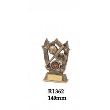 Baseball Softball Trophies RL362 - 140mm Also 160mm & 185mm