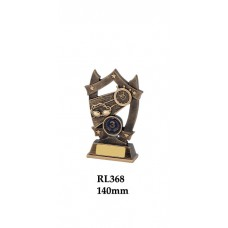 Swimming Trophies RL368 - 140mm Also 160mm & 185mm