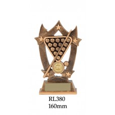 Billiards Trophies RL380 - 185mm Also 185mm & 205mm