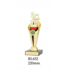 Rugby Trophies RL652 - 220mm Also 255mm
