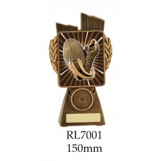 Rugby Trophies RL7001 - 150mm Also 175mm 210mm & 245mm